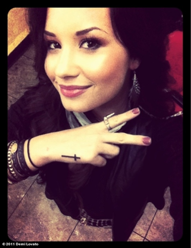 Demi New Tattoo's