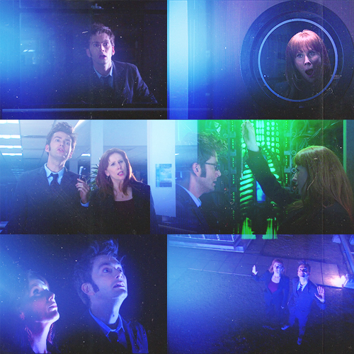 "Doctor/Donna in ""Partners in Crime"""