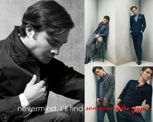 Ed Westwick Someone Like anda wallpaper