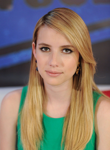 Emma Roberts visits Young Hollywood Studios, June 6