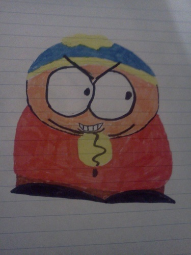 Eric Cartman Drawing