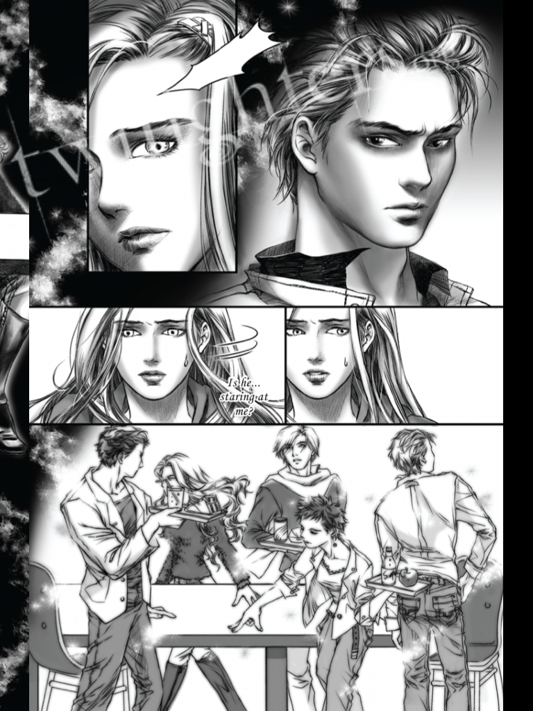 Exclusive Pics Twilight Graphic Novel On iPad!