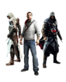 Ezio, Altair and Desmond