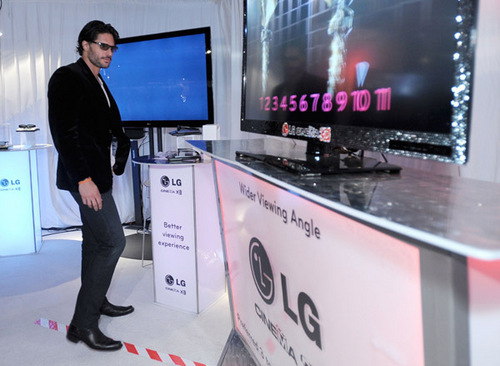 February 26: The LG Cinema 3D HDTV Lounge Backstage At The 2011 Spirit Awards