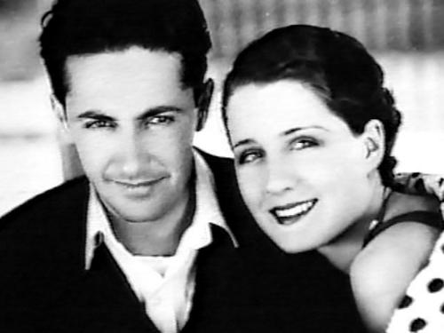 Film Director Irving Thalberg and Wife, Actress Norma Shearer