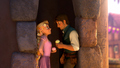 Flynn and Rapunzel 4ever love - tangled screencap