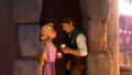 tangled - Flynn and Rapunzel 4ever love screencap