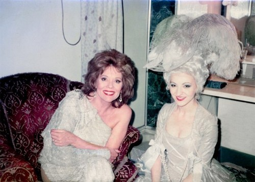 Follies (backstage) - diana-rigg Photo