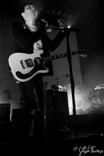 Frank Iero wallpaper probably with a guitarist and a concert called Frank Iero!