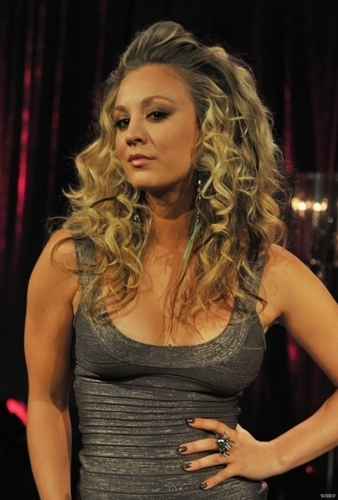 Kaley Cuoco kertas dinding probably containing a bustier, a koktel dress, and attractiveness titled Fuse's bahagian, atas 100 Sexiest Video Countdown