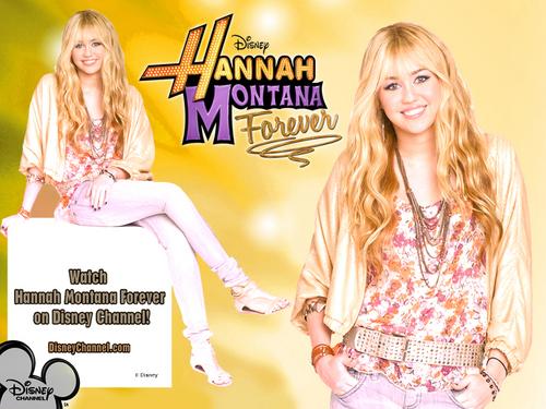 Hannah Montana Season 4 Exclusif Highly Retouched Quality wallpaper oleh dj...!!!