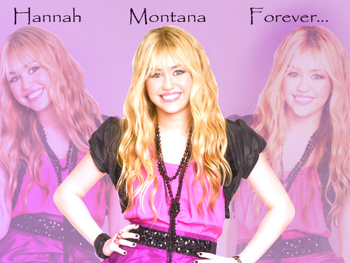 Hannah Montana Season 4 Exclusif Highly Retouched Quality Обои by dj...!!!