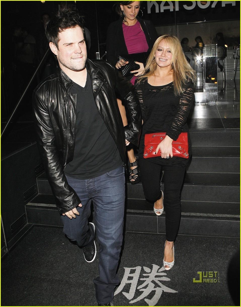 Hilary Duff & Mike Comrie
