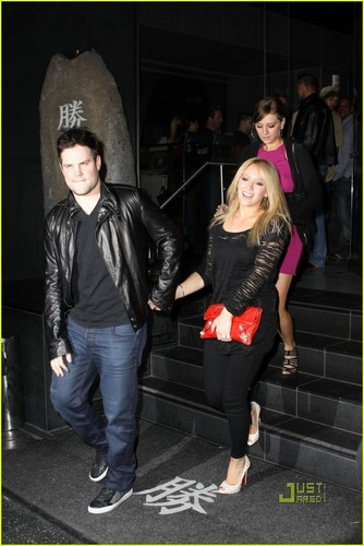 Hilary Duff & Mike Comrie