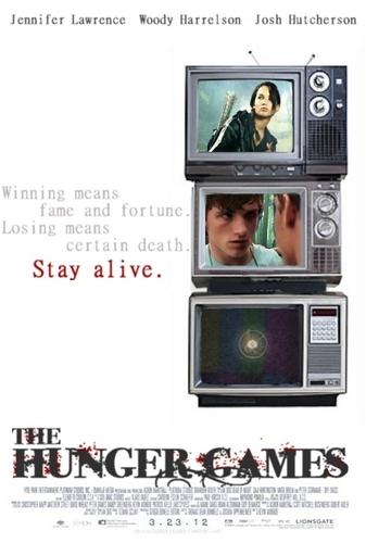 Hunger Games Movie Poster - TVs