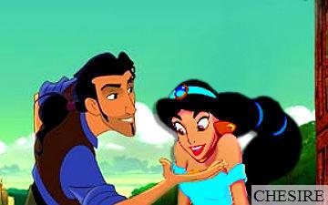 disney crossover fondo de pantalla possibly containing anime titled Jasmine/Tulio