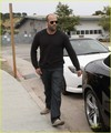 Jason Statham: Sandy Beach Stroll - jason-statham photo