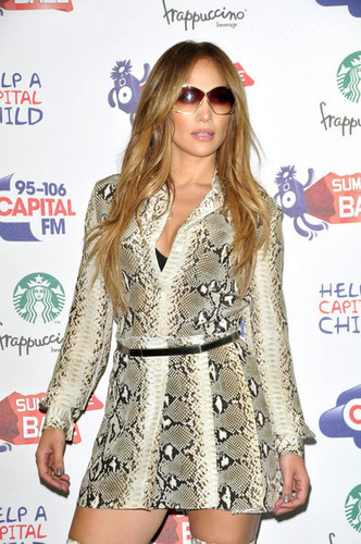 Jennifer Lopez joins a star-studded line up at the 95.8 Capital FM Summer Ball at Wembley Stadium