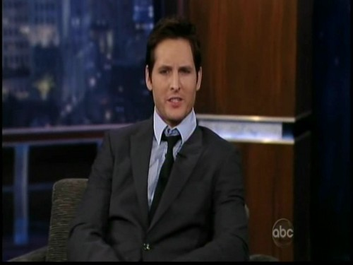 Jimmy Kimmel - 25th November 2009 - peter-facinelli Screencap