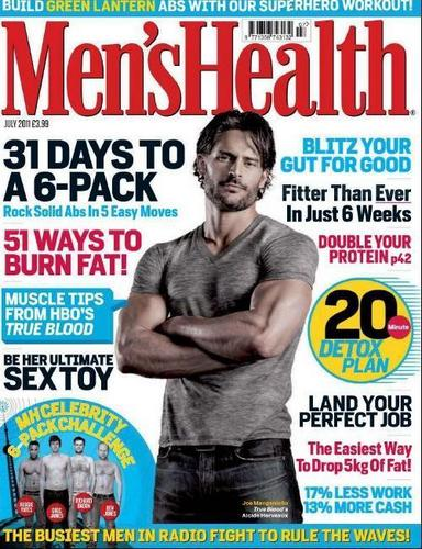 Joe in Men's Health Magazine