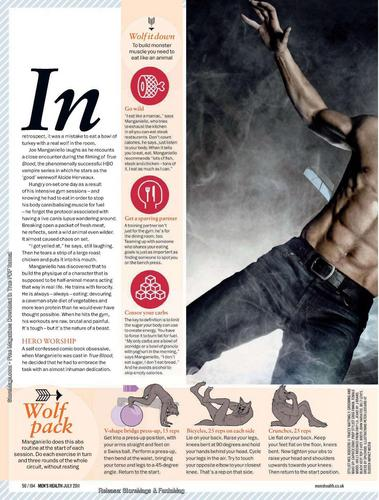 Joe in Men's Health Magazine - joe-manganiello Photo