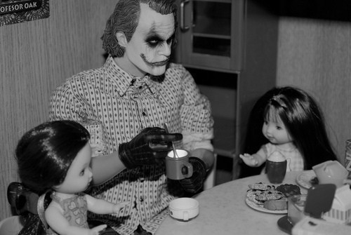 Joker's Tea Party