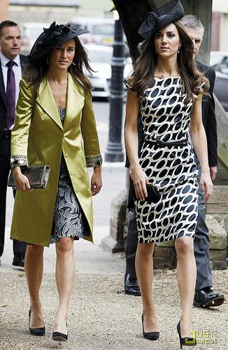 Kate Middleton And Philippa Middleton