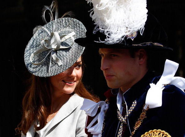 Kate Middleton and Prince William Don Fancy Hats For More ...