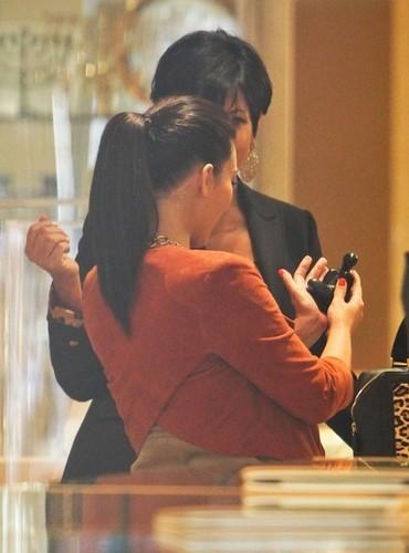 Kim Kardashian & Kris Humpheries in Beverly Hills