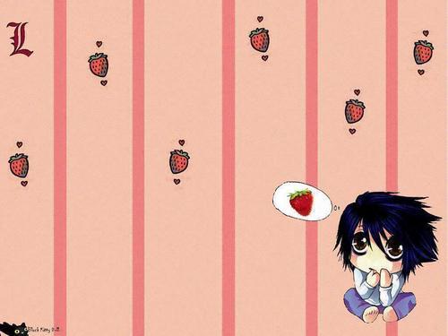 L strawberries