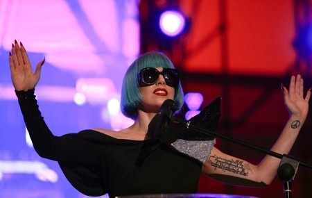 Lady Gaga At Europride in Rome - Speech