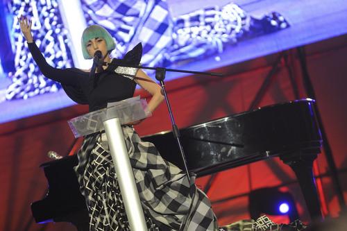 Lady Gaga At Europride in Rome - Speech