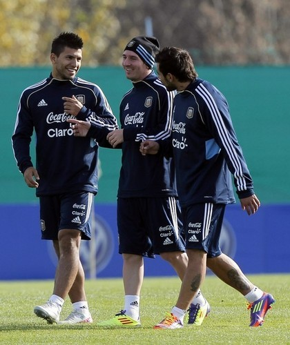 Lionel Messi Argentine National Team Training