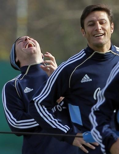Lionel Messi Argentine National Team Training