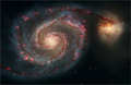 M51 Whirlpool Galaxy - astronomy photo