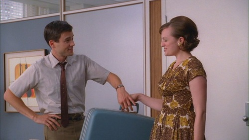 Mad Men - The Suitcase - 4.07 - mad-men Screencap