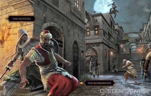 Assassin's Creed wallpaper with a street, a horse trail, and a brownstone entitled Multiplayer Characters ACR