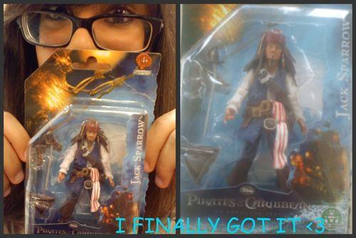 My Captain Jack Sparrow Figure <3