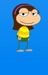 My poptropican when she was a kid - poptropica icon