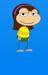 My poptropican when she was a kid - poptropica icon