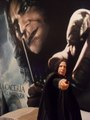 My severus snape poster and figure