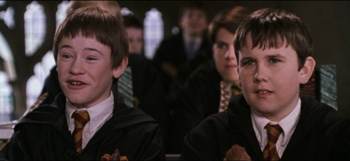 Neville Longbottom and Seamus Finnigan