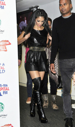 Nicole Scherzinger joins a star-studded line up at the 95.8 Capital FM Summer Ball at Wembley