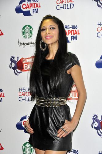 Nicole Scherzinger joins a star-studded line up at the 95.8 Capital FM Summer Ball at Wembley