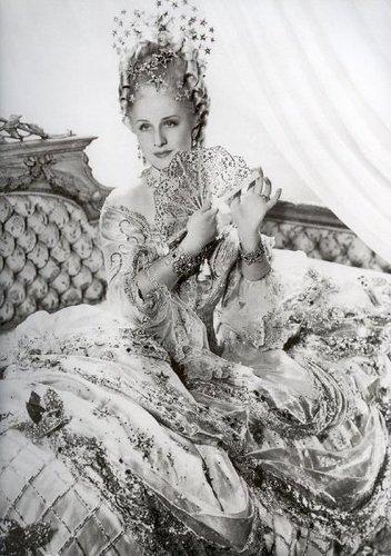 Norma Shearer as Marie Antoinette,