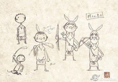 Okami Character Sketches