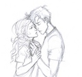 Percy Jackson and Annabeth Chase - percabeth fan art