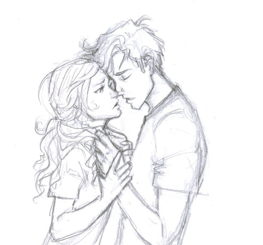 percabeth kiss