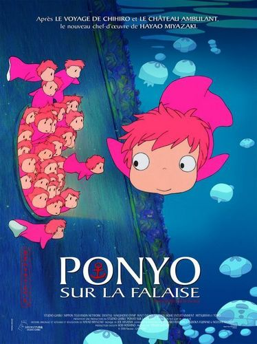 Ponyo on the Cliff oleh the Sea