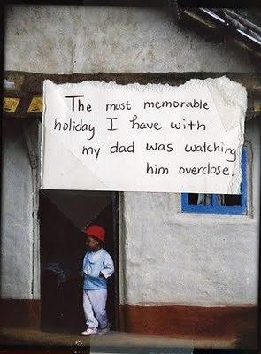 PostSecret - Early Father's siku Secrets